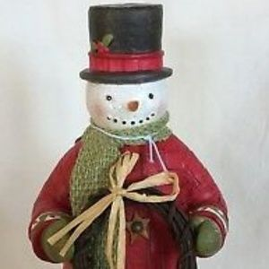 Cheerful Snowman by Hallmark 2014 w/box